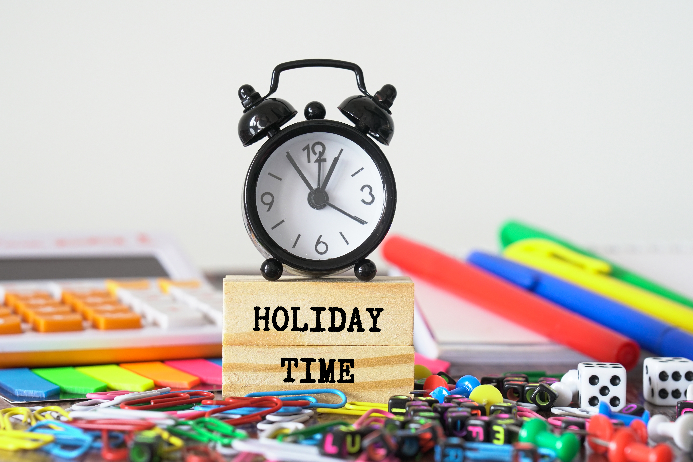 Tijd voor vakantie