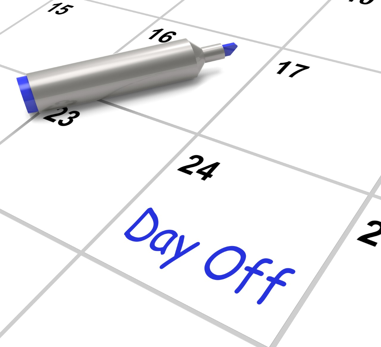 Plan your day off