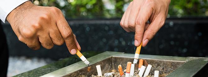 Hoe ga je om met rookpauzes